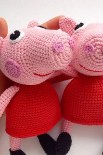 Crochet Peppa Pig Amigurumi Free Patterns | 320x214