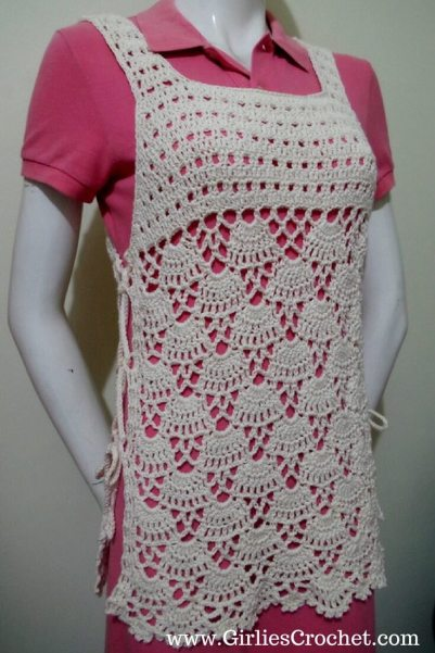 bea cover up, free crochet pattern, summer wearables