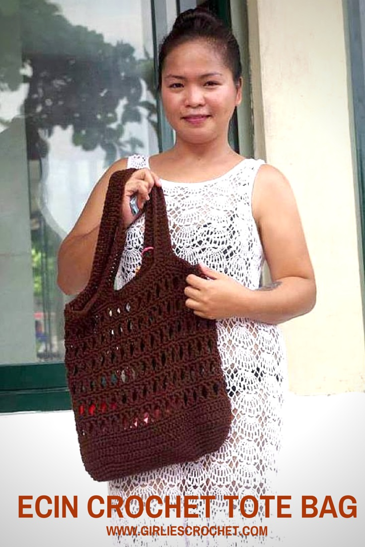 free crochet pattern, boho bag, easy patterns, summer bag, red heart