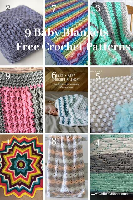 9 Crochet Baby Blanket
