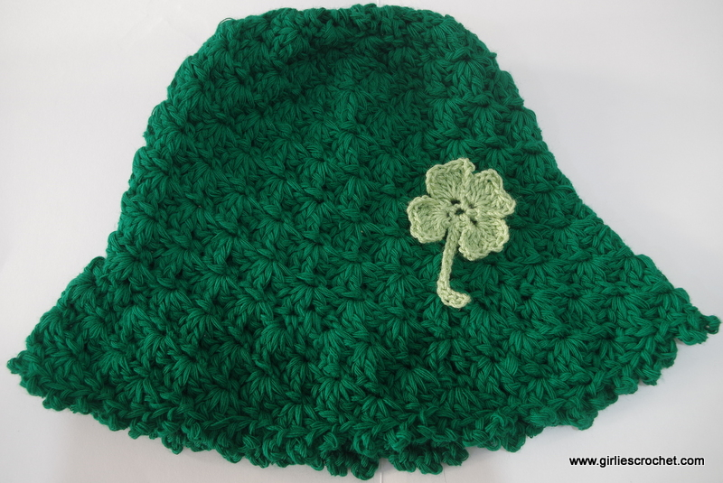 Free Crochet Patterns Four Leaf Clover : Crochet 4 Leaf Clover