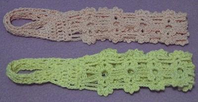 free crochet pattern, how to crochet a headband, easy, thread, photo tutorial