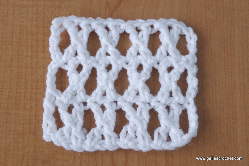 Cross treble crochet ccuart