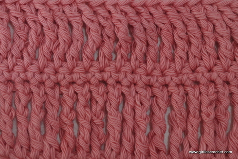 double treble crochet, photo tutorial, basic crochet stitches, dtrc
