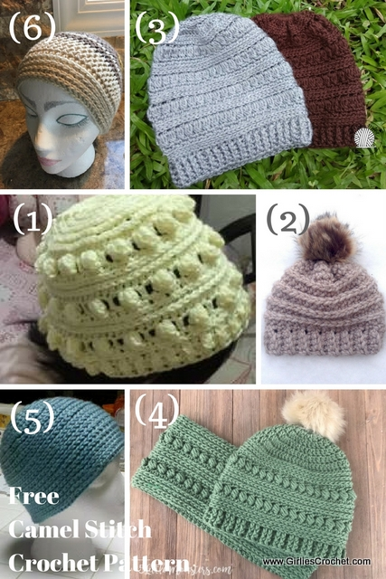 free camel stitch crochet pattern