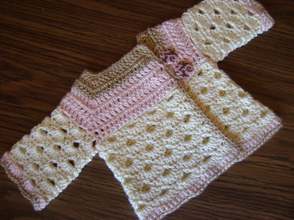 free crochet sweater pattern for baby