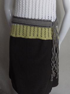 free crochet pattern, crochet belt, easy, beginners crochet