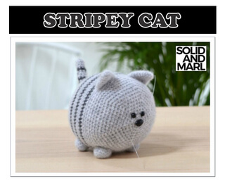 Cat Couple Amigurumi Kit – Snacksies Handicraft | 260x320