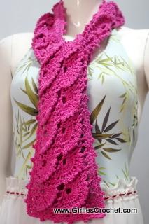 free crochet pattern, easy, crochet for beginners, pink, fan stitch