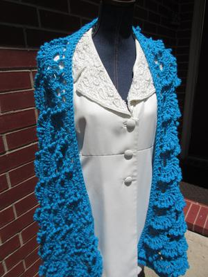 Glenda Wrap in Blue Hawaii