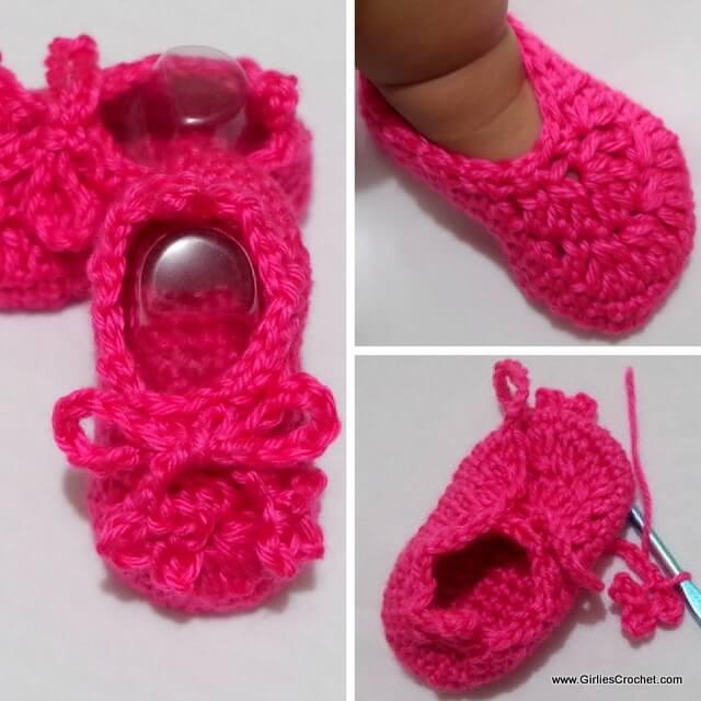 phoebe baby booties