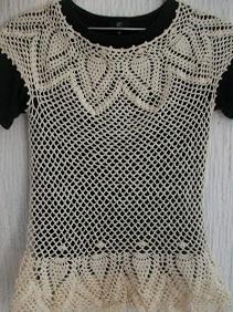 Pineapple Crochet - Blouse