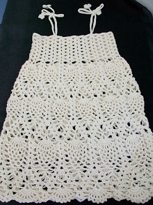 Pineapple Crochet  Dress