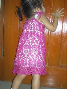 Pineapple Crochet - Dress
