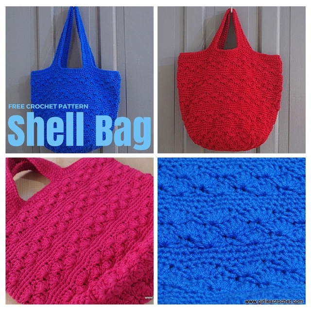 Free Crochet Shell Purse Pattern : PDF File Download