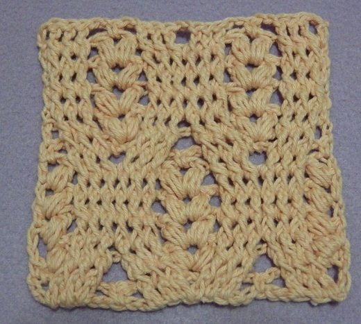 wheat stitch, crochet stitch tutorial, bobble, fpdc, bpdc