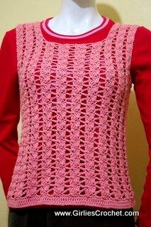 easy crochet winter vest