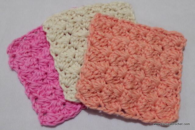 Free crochet pattern, Dina Crochet Coaster, easy, cotton