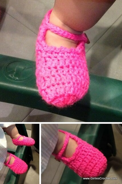 free crochet pattern, easiest ylah baby booties