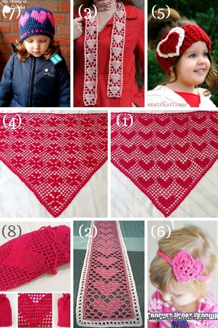 Free Heart Designs Crochet Pattern