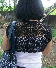 thread crochet bolero